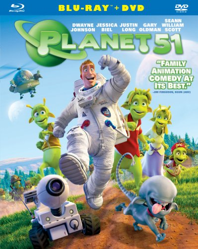 Planet 51 (Two-Disc Blu-ray/DVD Combo) -  Rated PG, Jorge Blanco, Dwayne Johnson