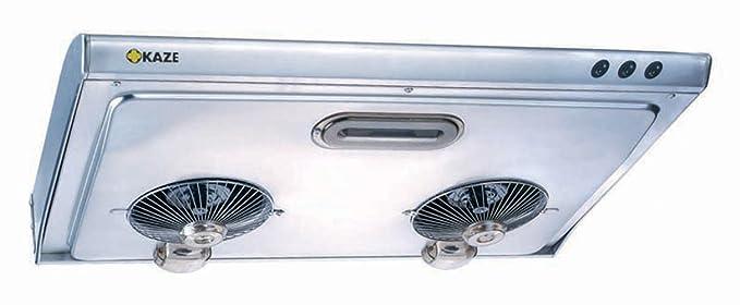 KAZE APPLIANCE K202SS36 Ultra Slim Profile Stainless Steel Kitchen Range  Hood, 36u0026quot;