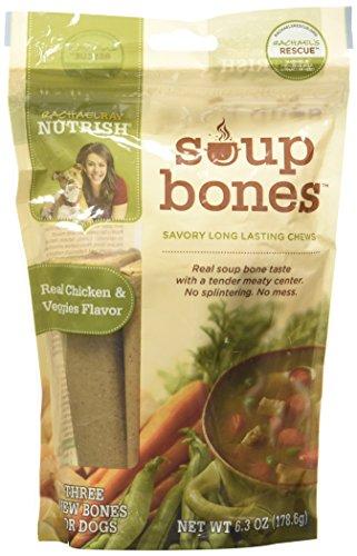 Rachael Ray Nutrish Soup Bones - Real Chicken & Veggies - 6.