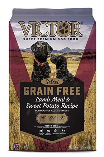 VICTOR Select - Grain Free Lamb Meal & Sweet Potato Recipe, Dry Dog...