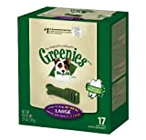 Greenies 17 ct 27 oz Canister Large (1 x 27oz) For Sale