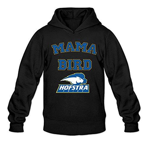 CYANY Hofstra University Pride Mama Bird Women's New Hoodies Hooded Sweatshirt MBlack (Birds Of War Costume)