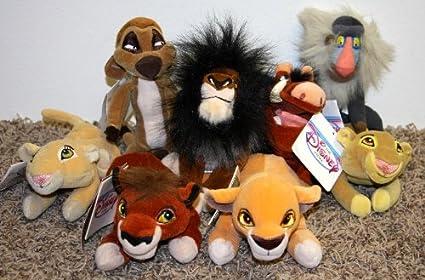 Walt Disney Store Bean Bag Plush Bean Bag Stuffed Animal Lion King Nala Girl Tag Disney
