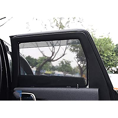 Bwen Fit for 2014 2015 2016 2020 2020 Jeep Grand Cherokee Car Window Shade(7 pcs) Magnetic Car Sun Shade for Windows UV,Sun,Glare Peotection Anti-Mosquito for Your Baby: Automotive