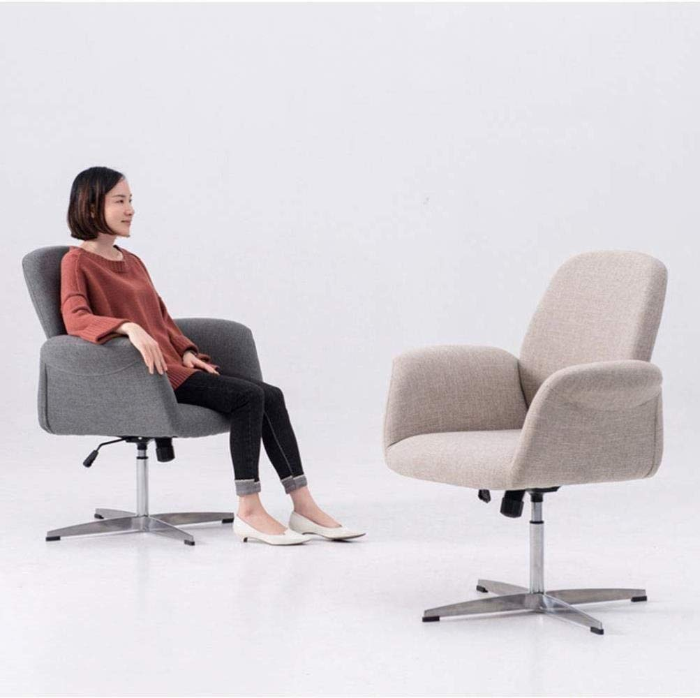 Xiuyun svängbar stol kontorsstol spelstol uppgift skrivbordsstol datorstol skrivbordsstol bomull baksida armstöd rotera lyfthöjd (färg: A) c
