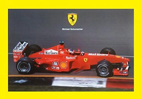Amazon Com 1999 Ferrari Formula 1 Michael Schumacher Vintage