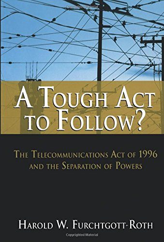 an introduction to the telecommunications act of 1996 The telecommunications act of 1996: codifying the digital divide  groups to  gain access to cable channels to speak, the introduction of.