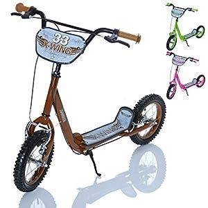 Lcp Kids X Wing Kinder Roller Scooter Als Tretroller Mit Bremse