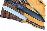21'' Blade Mukti Freedom Machete, Full Tang Hand Forged Khukuri, Gurkha Kukri Knife EGKH Nepal Outdoor Blade - Handmade By Ex Gurkha Khukuri House