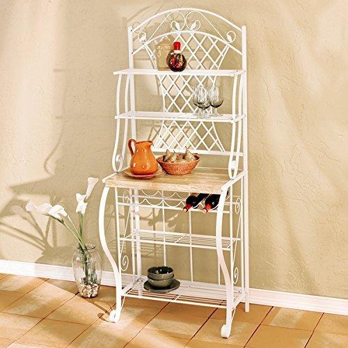 Harper Blvd White Trellis Baker's Rack, White by Harper Blvd (Trellis Rack)
