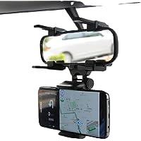 Suporte Articulado Celular Veicular Automotivo Espelho 360