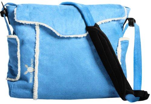Wallaboo Nore - Bolso para pañales y cambiador, color rojo Azul Léger