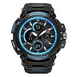 #8: Men's Digital Sports Waterproof Watch Multi-Function Military Electronic Watch LED Backlight