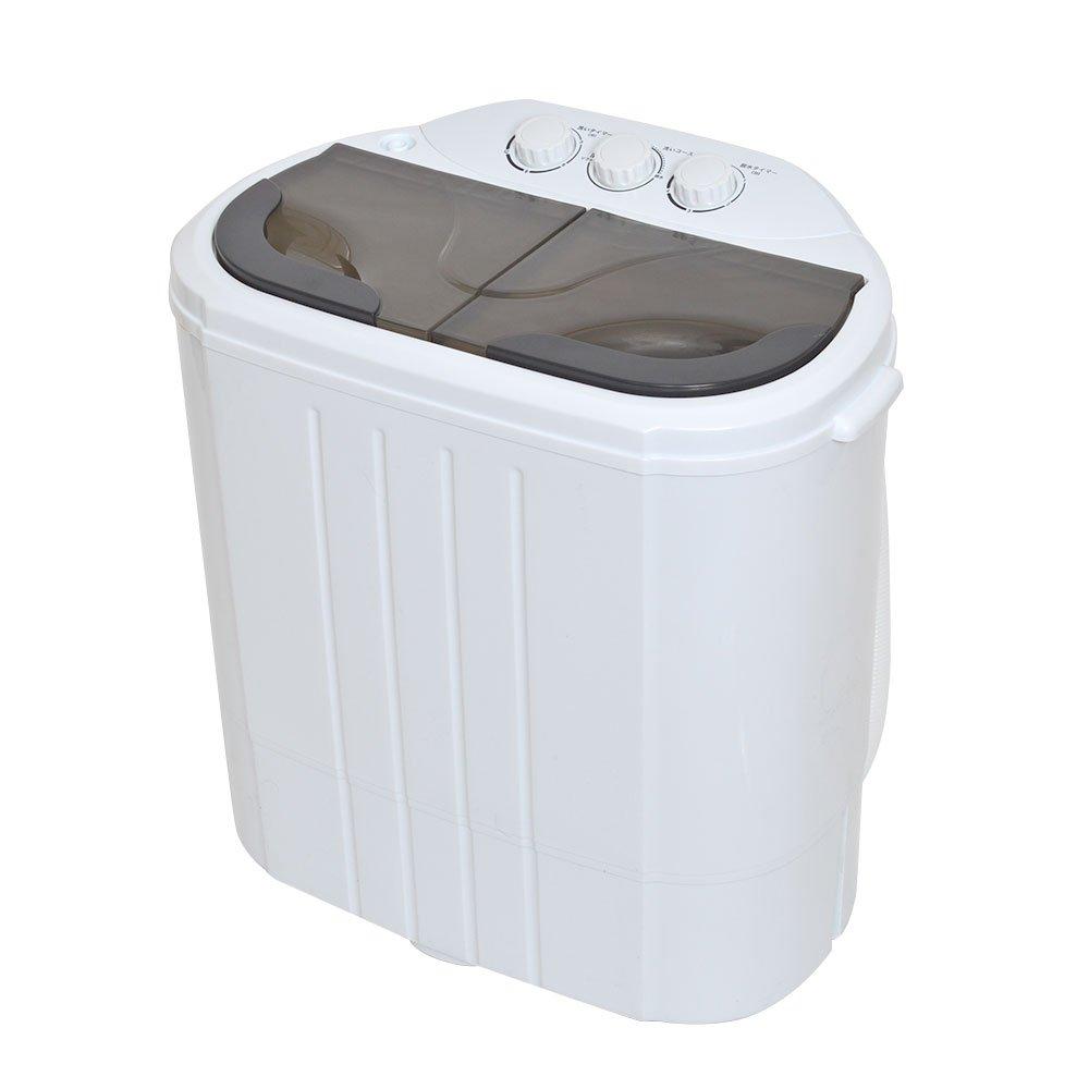 サンコー 小型二槽式洗濯機「別洗いしま専科」2 RCWASHR4   B077RQYNH3