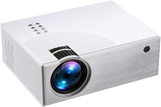 QinLL Mini proyector LED, 480p 100 Pulgadas de Pantalla admitido ...