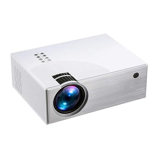 Mini proyector LED, 480p 100 pulgadas de pantalla admitido, ultra ...