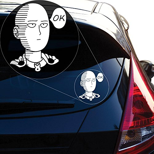 Saitama One Punch Man Vinyl Decal Sticker for Car Window, La