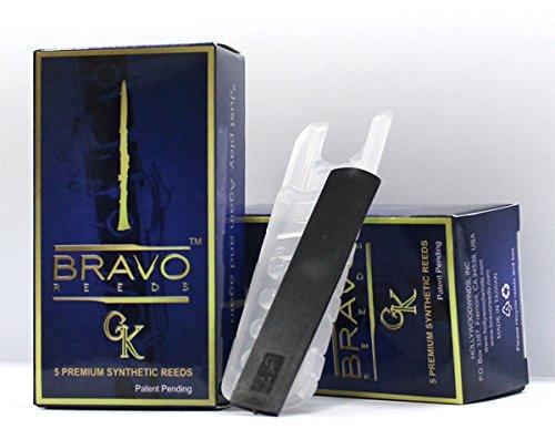 Bravo Gk Premium Synthetic Reeds for Bb Clarinet: Sampler (2, 2.5,3, 3.5,4). $28, Designed in ()