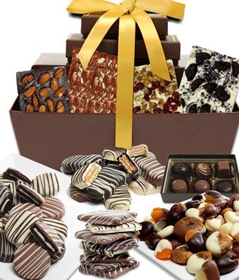 From You Flowers - Premium Chocolate Snacks Gift Basket