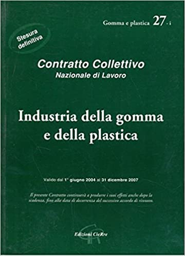 Gomma ebook ccnl download plastica