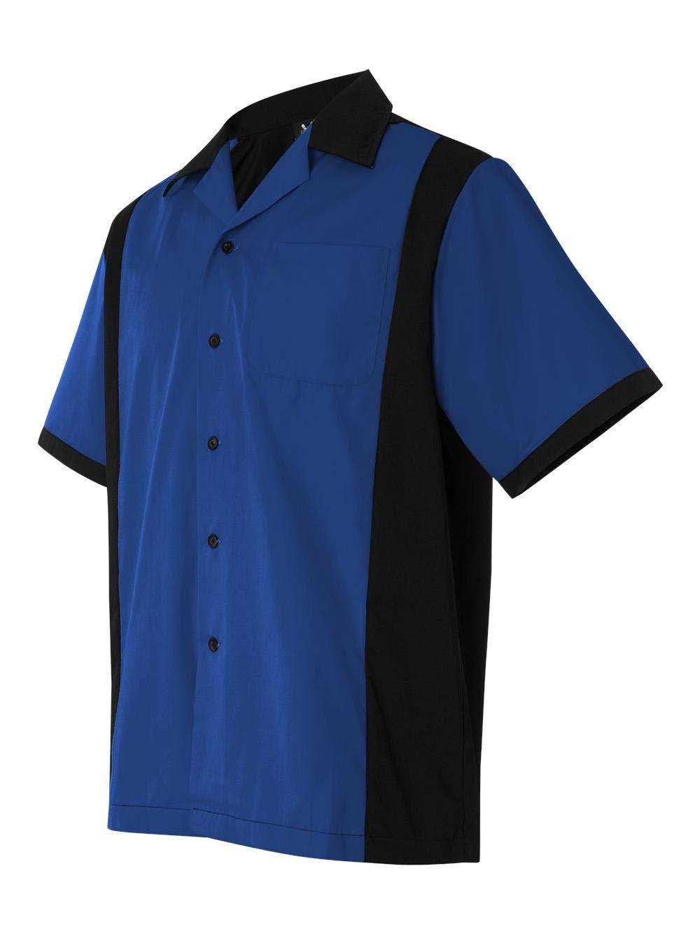 Hilton - Cruiser Bowling Shirt - HP2243-3XL - Royal