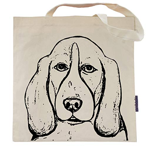Rembrandt the Basset Hound Tote Bag by Pet Studio Art
