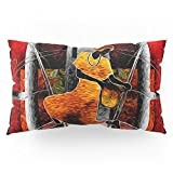 Society6 African Dance Pillow Sham King (20'' x 36'') Set of 2