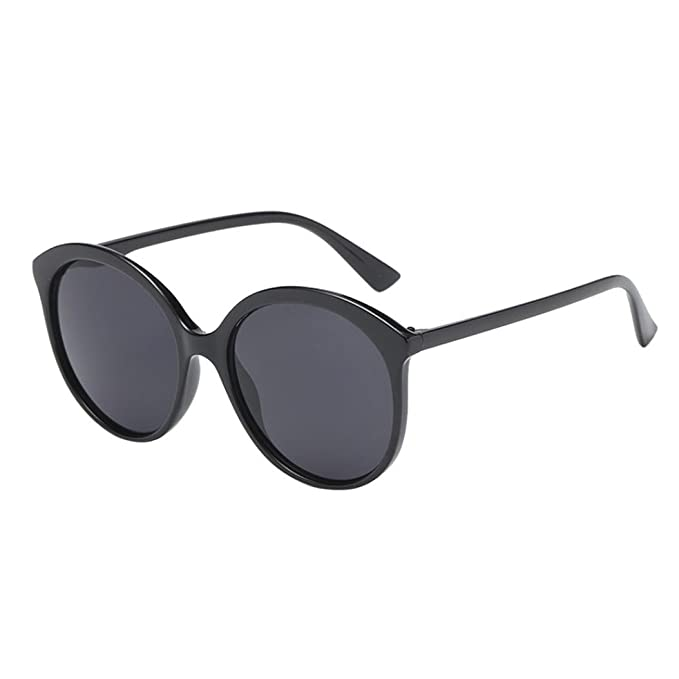 2a6081e4198d Image Unavailable. Image not available for. Color  Women Man Vintage Round Frame  Sunglasses Eyewear Retro Unisex By Limsea