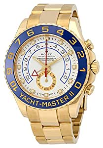 Rolex Yacht-Master II swiss-automatic mens Watch 116688WAO (Certified Pre-owned)