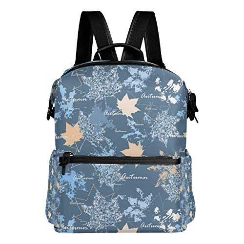 Candy Front Mold (Laptop Backpack Business Bags Water Resistant School Bookbag for College Travel Large-Capacity Backpack Bule Maple Leaf Mold)