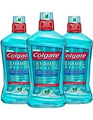 Colgate Enamel Health Mouthwash, Fresh Mint - 1L, 33.8...