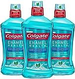 Colgate Enamel Health Mouthwash, Fresh Mint - 1L, 33.8 fluid ounce (3 pack)