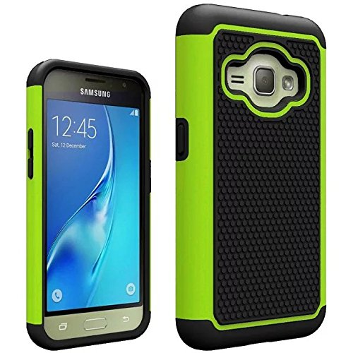 J1 2016 Case, Galaxy Amp 2 Case, Galaxy Express 3 Case,ARSUE  Heavy Duty Hybrid Dual Layer Armor Defender Protective Case Cover for Samsung Galaxy J1