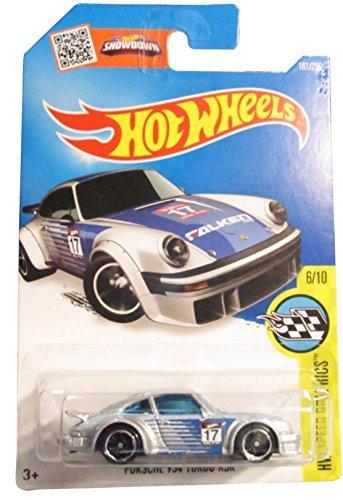 Hot Wheels 2016 HW Speed Graphics Porsche 934 RSR 181/250, Silver (Value Of Hot Wheels Treasure Hunt Cars)