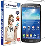 bagtag Cellbell Tempered Glass Screen Protector for Samsung Galaxy Galaxy Grand 2 7106 / 7102(2.5D Curved Edges)(Clear) Complimentary Prep cloth-Bronze Edition