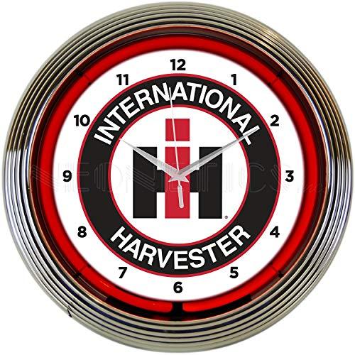 Neonetics International Harvester NEON Clock (Ford Tractor Clock)
