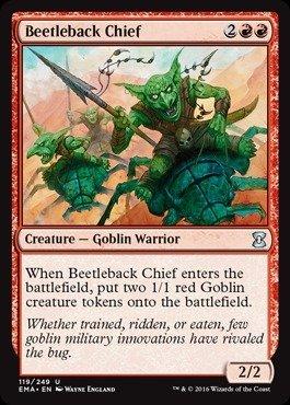Magic: the Gathering - Beetleback Chief (119/249) - Eternal Masters - Foil