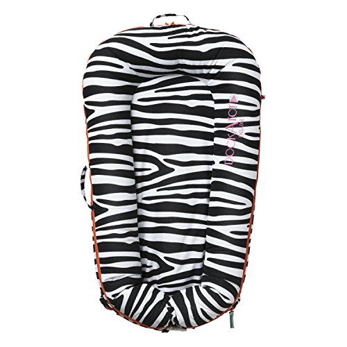 Cheapest Prices! DockATot Deluxe Dock (So Safari) - The All in One Baby Lounger, Sleep Positioner, P...