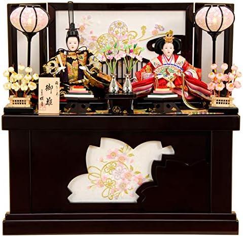 雛人形 ひな人形 K315 コンパクト 雛人形 コンパクト収納飾り 親王飾り