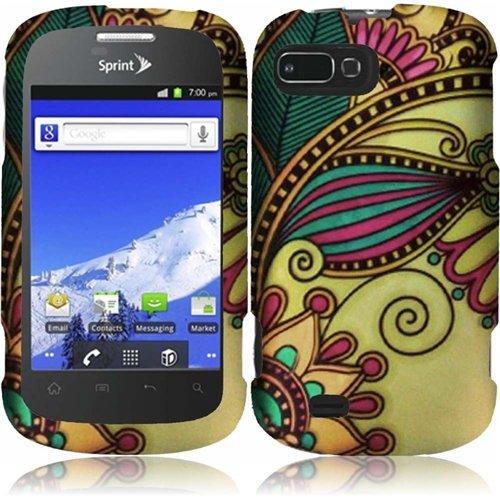 HR Wireless Rubberized Design Cover for ZTE Valet Z665 - ...