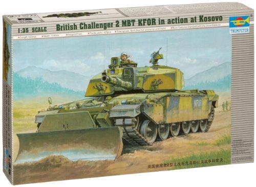 Main British Tank Battle (Trumpeter 1/35 British Challenger II Main Battle Tank Model Kit)