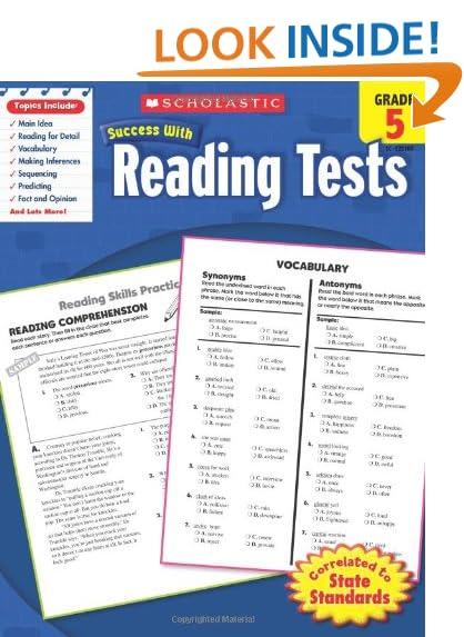 Reading Comprehension Grade 5: Amazon.com