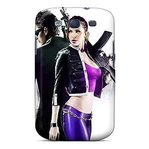 Premium Tpu Saints Row 3 Cover Skin For Galaxy S3
