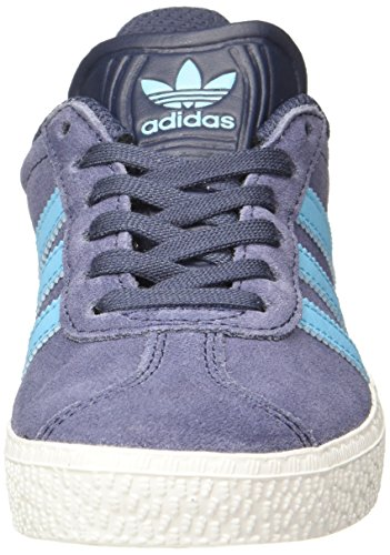adidas Unisex Kids' Gazelle 2 Trainers Grau (Blue ) sale store outlet very cheap Manchester for sale online sale 2015 new for sale 2D4NZL