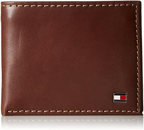 Tommy Hilfiger Men's Logan Passcase Wallet with Zipper