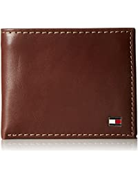 83a6f4a71ac Men s Leather Wallet - Bifold Trifold Hybrid Flip Pocket Extra Capacity  Casual Slim Thin for Travel