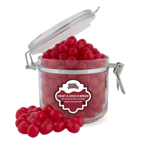 Lafayette Sweet & Sour Cherry Surprise Round Canister 'Primary (Lafayette Cherry)