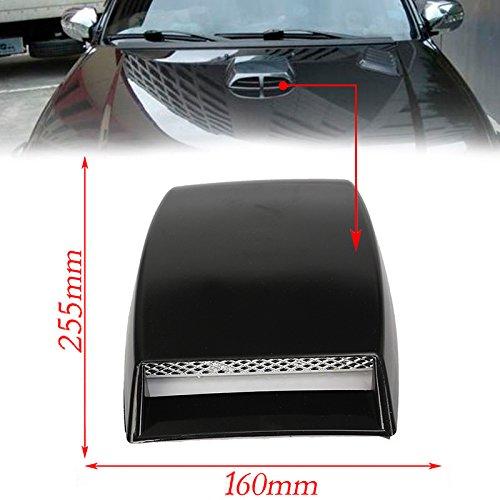 CHAMPLED PIA All Auto Model Universal Car Black - Pontiac Trans Am Hood Vents