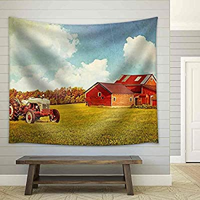 Created By a Professional Artist, Fascinating Design, Farm Fabric Wall