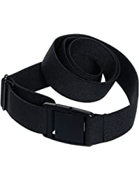 Womens Invisible Belt - Elastic Adjustable No Show Web Belt by Silver Lilly